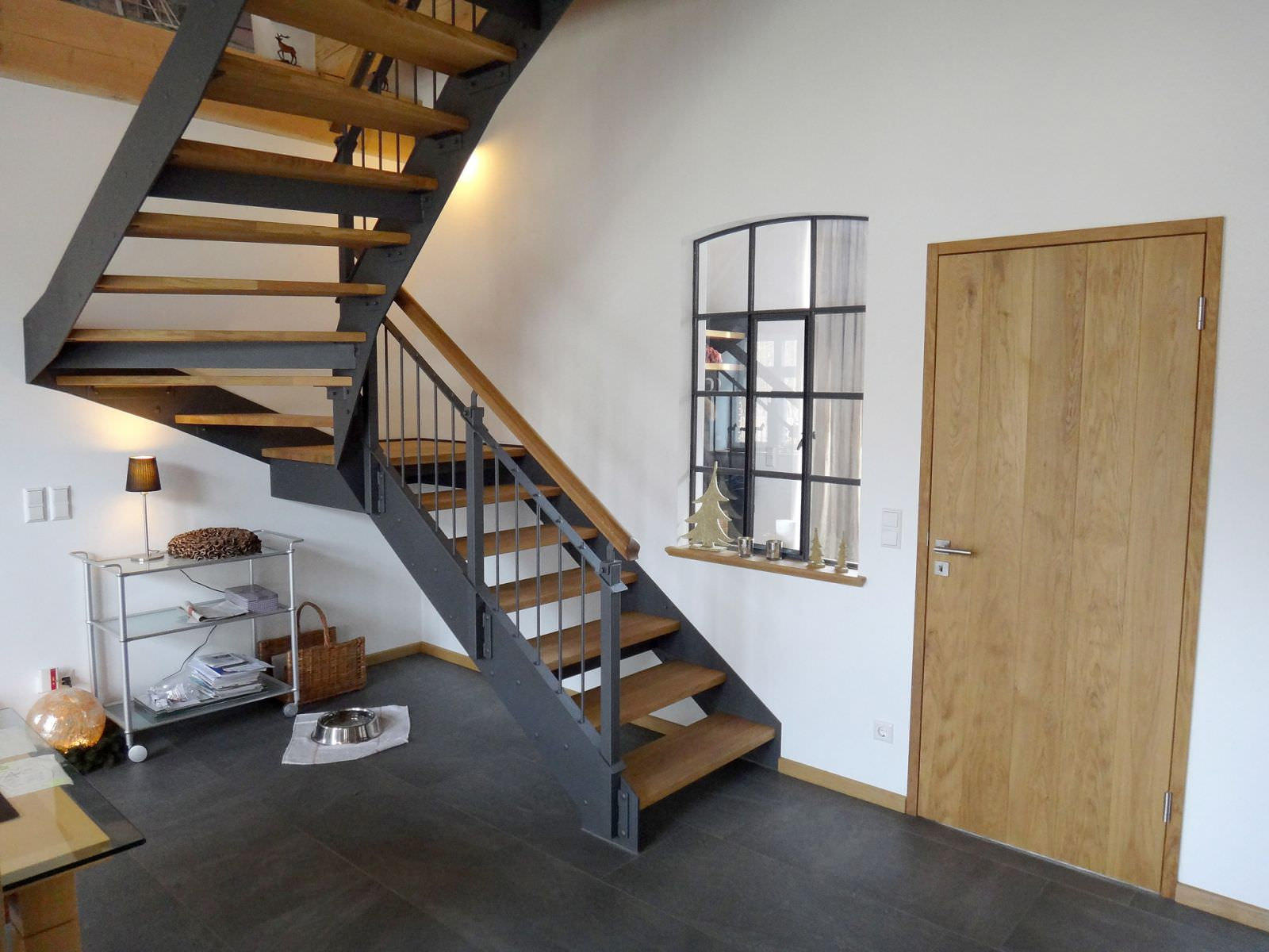 stahltreppen tischlerei lasse reckmann. Black Bedroom Furniture Sets. Home Design Ideas
